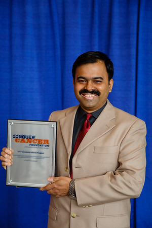 2017 IDEA Recipient Srinivas Rajagopala, MBBS, MD, during 2017 Grants & Awards Ceremony and Reception