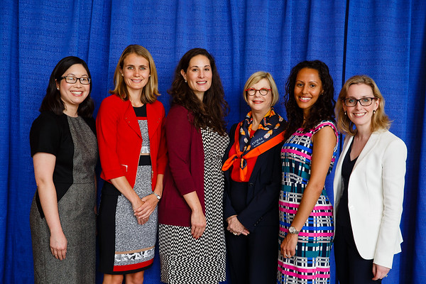 Women Who Conquer Cancer Young Investigator Award Recipients with Sandra M. Swain, MD, FACP, FASCO during 2017 Grants & Awards Ceremony and Reception