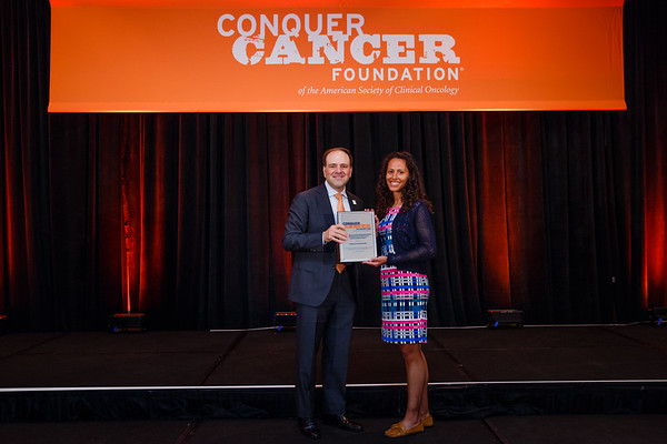 2017 Young Investigator Award Recipient Catherine Handy, MD, MPH during 2017 Grants & Awards Ceremony and Reception
