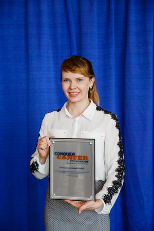 2017 IDEA Recipient Evgeniya Vladimirovna Kharchenko, MD, during 2017 Grants & Awards Ceremony and Reception
