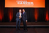 2017 Young Investigator Award Recipient Aadel Chaudhuri MD, PhD with Thomas G. Roberts, Jr., MD, Chair of the Conquer Cancer Foundation Board of Directors, during 2017 Grants & Awards Ceremony and Reception