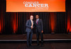 2017 Resident Travel Award Recipient Lionel Aurelien Kankeu Fonkoua, MD with Thomas G. Roberts, Jr., MD, Chair of the Conquer Cancer Foundation Board of Directors, during 2017 Grants & Awards Ceremony and Reception