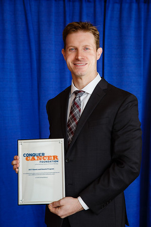 2017 Young Investigator Award Recipient Joshua Sasine, MD, during 2017 Grants & Awards Ceremony and Reception