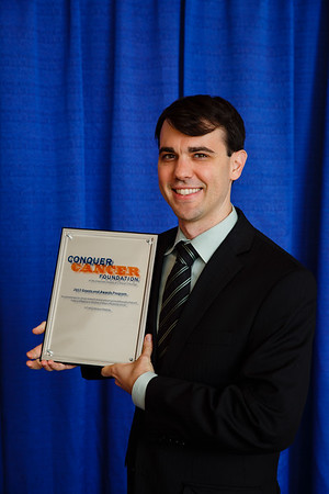 2017 Young Investigator Award Recipient Nicholas DeVito, MD during Grants & Awards Ceremony and Reception