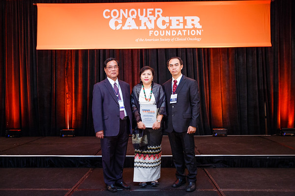2017 IDEA Recipient Wah Wah Myint Zu, MBBS during 2017 Grants & Awards Ceremony and Reception