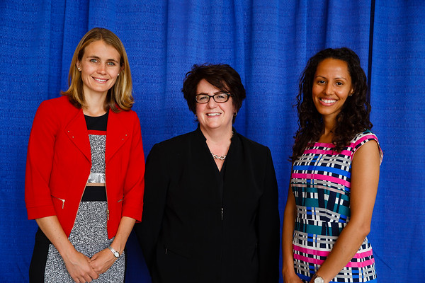 2017 YIA Recipients Erin Gillespie, MD and Catherine Handy, MD, MPH during 2017 Grants & Awards Ceremony and Reception