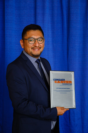 2017 Young Investigator Award Recipient Davis Torrejon Castro, MD during 2017 Grants & Awards Ceremony and Reception