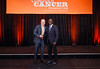 2017 Young Investigator Award Recipient Oladapo Yeku, MD, PhD  with Thomas G. Roberts, Jr., MD, Chair of the Conquer Cancer Foundation Board of Directors, during 2017 Grants & Awards Ceremony and Reception