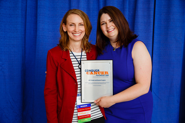 2017 Young Investigator Award Recipient Nicole Grieselhuber, MD, PhD during Grants & Awards Ceremony and Reception