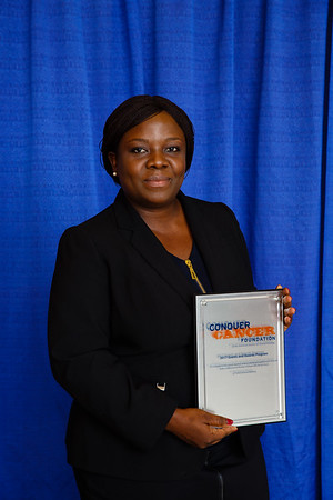 2017 Resident Travel Award Recipient Susanna Awoyode, MBBS, MS during 2017 Grants & Awards Ceremony and Reception