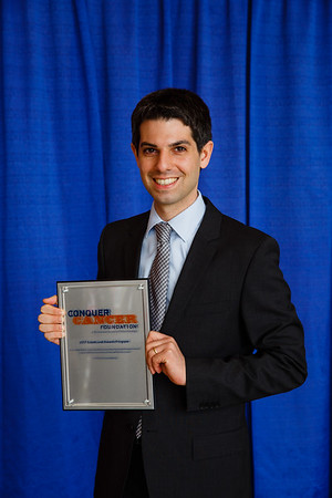 2017 Young Investigator Award Recipient Mark Yarchoan, MD, during 2017 Grants & Awards Ceremony and Reception