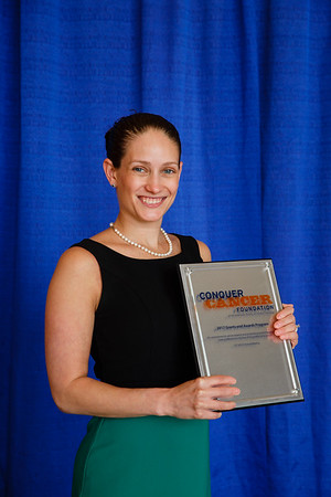 2017 Career Development Award Recipient Melissa Accordino, MD, during 2017 Grants & Awards Ceremony and Reception