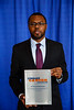 2017 Resident Travel Award Recipient Lionel Aurelien Kankeu Fonkoua, MD, during 2017 Grants & Awards Ceremony and Reception