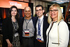 Aaron & Barbro Sasson with Philip D. Poorvu, MD, and Ana-Christina Garrido-Castro, MD during 2017 Grants & Awards Ceremony and Reception