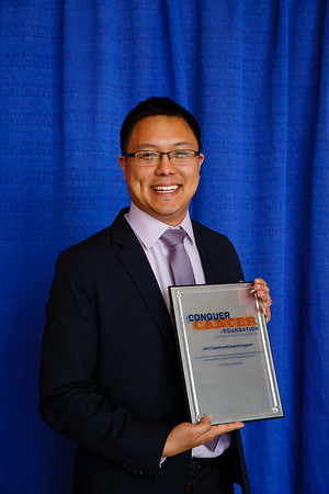 2017 Young Investigator Award Recipient Jason Paik, MD, PhD during 2017 Grants & Awards Ceremony and Reception