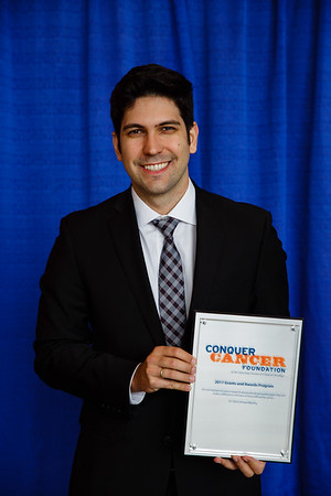 2017 IDEA Recipient Daniel Araujo, MD, during 2017 Grants & Awards Ceremony and Reception