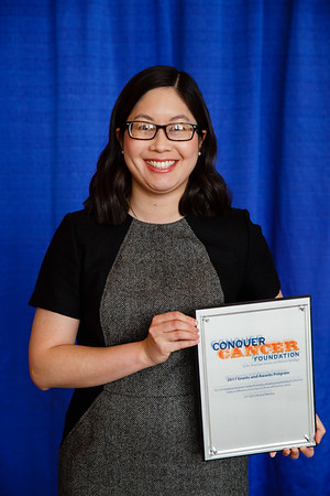 2017 Young Investigator Award Recipient Melisa Wong, MD, during 2017 Grants & Awards Ceremony and Reception