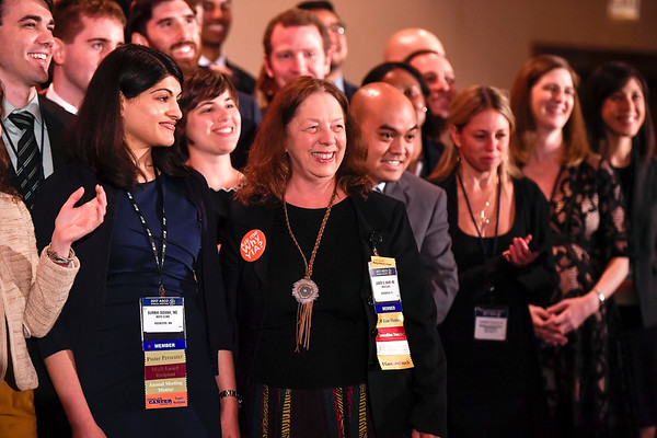 2017 Young Investigator Award Recipients during 2017 Grants & Awards Ceremony and Reception