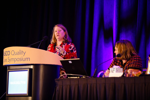 Faculty Panel presents during General Session