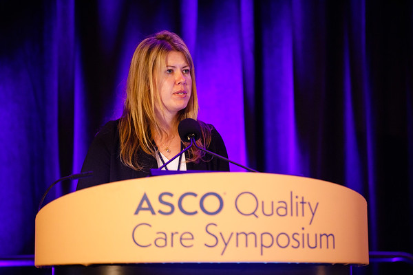 "Kerri Stevenson presenting abstract #269, ""Reducing Opioid Utilization After Urologic Oncology Surgery"" presents Oral Abstract Session A"