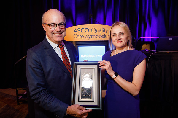 Douglas Blayney, MD, FASCO, Award Lecturer presents Joseph V. Simone Achievement Award and Lecture for Excellence in Quality and Safety in the Care of Patients with Cancer