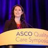 "Stephanie B. Wheeler, PhD, MPH, presenting abstract #32, ""Cancer-Related Financial Burden Among Patients with Metastatic Breast Cancer"""