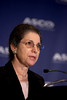 Atlanta, GA - ASCO 2006 - Patricia A. Ganz, MD, addresses the Opening Press Briefing, Friday, June 2, 2006, during the American Society of Clinical Oncology's (ASCO) 42nd Annual Meeting. The meeting attracts more than 25,000 oncologists, cancer researchers and cancer care professionals from more than 100 countries. Credit: Photo Courtesy © ASCO/Todd Buchanan 2006. ASCO Contact: Danielle Potuto/Communications Dept.; 703-519-1422. Technical Questions: todd@toddbuchanan.com; 612-226-5154.