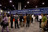 Atlanta, GA - ASCO 2006 – Attendees register to attend the American Society of Clinical Oncology's (ASCO) 42nd Annual Meeting. The meeting attracts more than 25,000 oncologists, researchers, and cancer care professionals from more than 100 countries. Credit: Photo Courtesy © ASCO/Todd Buchanan 2006. ASCO Contact: Danielle Potuto/Communications Dept.; 703-519-1422. Technical Questions: todd@toddbuchanan.com; 612-226-5154.