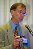 Chicago, IL - ASCO 2007 - Nicholas J. Vogelzang, MD, speaks during the Oncologist As a Patient Education Session, held on Friday June 1, 2007, during the American Society of Clinical Oncology's (ASCO) 43rd Annual Meeting. The meeting attracts more than 25,000 oncologists, researchers, and cancer care professionals from more than 100 countries. Date: Friday June 1, 2007. Credit: Photo Courtesy © ASCO/Scott Morgan 2007. ASCO Contact: Tiffany Reynolds/Communications Dept.; 703-519-1423. Technical Questions: todd@toddbuchanan.com; 612-226-5154.