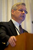 Chicago, IL - ASCO 2007 - David H. Johnson, MD, speaks during the Oncologist As a Patient Education Session, held on Friday, June 1, 2007, during the American Society of Clinical Oncology's (ASCO) 43rd Annual Meeting. The meeting attracts more than 25,000 oncologists, researchers, and cancer care professionals from more than 100 countries. Date: Friday June 1, 2007. Credit: Photo Courtesy © ASCO/Scott Morgan 2007. ASCO Contact: Tiffany Reynolds/Communications Dept.; 703-519-1423. Technical Questions: todd@toddbuchanan.com; 612-226-5154.