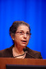 "Chicago, IL - 2010 ASCO Annual Meeting: Dr. Patricia Ganz speaks during the session ""Sex and the Survivor"" at the American Society of Clinical Oncology Annual Meeting on Friday, June 4, 2010. Over 32,000 physicians, researchers and healthcare professionals from over 100 countries attended the meeting, which was held at McCormick Place and featured the latest innovations in cancer research, quality, practice and technology. Date: 6/4/2010 Photo by © ASCO/Todd Buchanan Technical Questions: todd@toddbuchanan.com;  ASCO Contact: photos@asco.org"