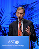 Chicago, IL - 2010 ASCO Annual Meeting: Nicholas J. Vogelzang, MD, speaks during the Highlights of the Day session at the American Society of Clinical Oncology Annual Meeting on Saturday, June 5, 2010. Over 32,000  physicians, researchers and healthcare professionals from over 100 countries attended the meeting, which was held at McCormick Place and featured the latest innovations in cancer research, quality, practice and technology. Date: Saturday June 5, 2010 Photo by © ASCO/Phil McCarten 2010 Technical Questions: todd@toddbuchanan.com; ASCO Contact: photos@asco.org