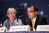 "Chicago, IL - 2010 ASCO Annual Meeting: Yung-Jue Bang, PhD, addresses the Lung Cancer Press Conference about Abstract ""Clinical activity of the oral ALK inhibitor, PF-02341066, in ALK positive patients with non-small cell lung cancer (NSCLC)"" at the American Society of Clinical Oncology Annual Meeting on Saturday, June 5, 2010. Over 32,000 physicians, researchers and healthcare professionals from over 100 countries attended the meeting, which was held at McCormick Place and featured the latest innovations in cancer research, quality, practice and technology. Date: Saturday June 5, 2010 Photo by © ASCO/Scott Morgan 2010 Technical Questions: todd@toddbuchanan.com; ASCO Contact: photos@asco.org"