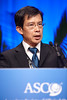 Chicago, IL - 2010 ASCO Annual Meeting: Slow Ming Lee presents abstract 7504 at the American Society of Clinical Oncology Annual Meeting on Saturday, June 5, 2010. Over 32,000  physicians, researchers and healthcare professionals from over 100 countries attended the meeting, which was held at McCormick Place and featured the latest innovations in cancer research, quality, practice and technology. Date: Saturday June 5, 2010 Photo by © ASCO/Scott Morgan 2010 Technical Questions: todd@toddbuchanan.com; ASCO Contact: photos@asco.org
