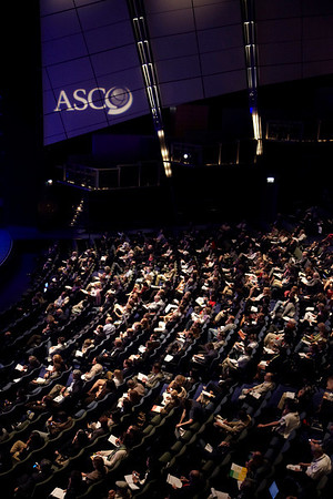 Chicago, IL - 2010 ASCO Annual Meeting: General Views of Aire Crown Theater at the American Society of Clinical Oncology Annual Meeting on Sunday, June 6, 2010. Over 32,000 physicians, researchers and healthcare professionals from over 100 countries attended the meeting, which was held at McCormick Place and featured the latest innovations in cancer research, quality, practice and technology. Date: Sunday June 6, 2010 Photo by © ASCO/Todd Buchanan 2010 Technical Questions: todd@toddbuchanan.com; ASCO Contact: photos@asco.org