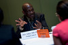 Chicago, IL - 2010 ASCO Annual Meeting: Alex Adjei, MD, PhD, speaks to attendees at Grants Writing Workshop II at the American Society of Clinical Oncology Annual Meeting on Friday, June 4, 2010. Over 32,000 physicians, researchers and healthcare professionals from over 100 countries attended the meeting, which was held at McCormick Place and featured the latest innovations in cancer research, quality, practice and technology. Date: Friday June 4, 2010 Photo by © ASCO/Chris Salata 2010 Technical Questions: todd@toddbuchanan.com; ASCO Contact: photos@asco.org