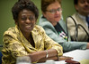 Chicago , IL - ASCO 2011 Annual Meeting:  U.N. Ambassador Dr. Josephine Ojiambo  speaks during the NCD Summit Meeting at the American Society for Clinical Oncology Annual Meeting here today, Friday June 3, 2011. Over 25,000  physicians, researchers and healthcare professionals from over 100 countries are attending the meeting which is being held at the McCormick Convention center and features the latest cancer research in the areas of basic and clinical science. Date: Friday June 3, 2011 Photo by © GMG/Zach Boyden-Holmes 2011 Technical Questions: todd@toddbuchanan.com; ASCO Contact: photos@asco.org Event Name: NCD Summit Meeting