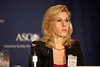 Chicago, IL - ASCO 2011 Annual Meeting: AM Tsimberidou, MD, PhD, speaks during the Opening Press Conference at the American Society for Clinical Oncology Annual Meeting here today, Saturday June 4, 2011. Over 25,000  physicians, researchers and healthcare professionals from over 100 countries are attending the meeting which is being held at the McCormick Convention center and features the latest cancer research in the areas of basic and clinical science. Date: Saturday June 4, 2011 Photo by © GMG/Scott Morgan 2011 Technical Questions: todd@toddbuchanan.com; ASCO Contact: photos@asco.org Event Name: Opening Press Conference