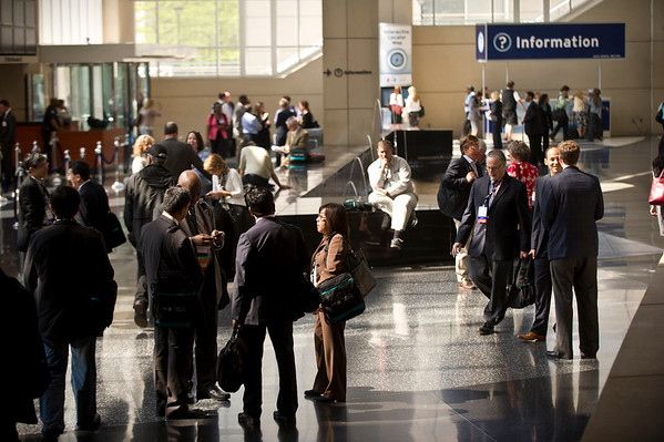 Chicago, IL - ASCO 2011 Annual Meeting: General Views at the American Society for Clinical Oncology Annual Meeting here today, Friday June 3, 2011. Over 25,000  physicians, researchers and healthcare professionals from over 100 countries are attending the meeting which is being held at the McCormick Convention center and features the latest cancer research in the areas of basic and clinical science. Date: Friday June 3, 2011 Photo by © ASCO/Todd Buchanan 2011 Technical Questions: todd@toddbuchanan.com; ASCO Contact: photos@asco.org