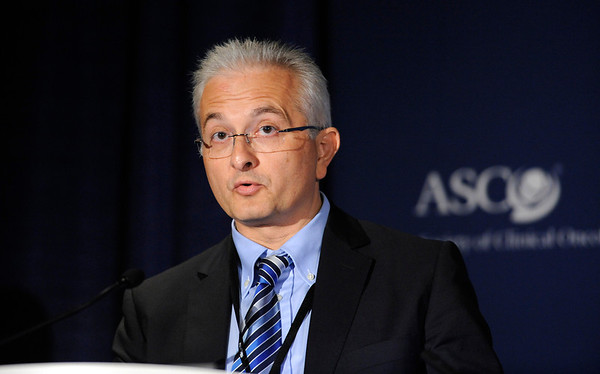 Chicago, IL - ASCO 2011 Annual Meeting:  Alessandro Maria  Vannucchi, M.D. speaks during a Press Conference at the American Society for Clinical Oncology Annual Meeting here today, Saturday June 4, 2011. Over 25,000  physicians, researchers and healthcare professionals from over 100 countries are attending the meeting which is being held at the McCormick Convention center and features the latest cancer research in the areas of basic and clinical science. Date: Saturday June 4, 2011 Photo by © GMG/Phil McCarten 2011 Technical Questions: todd@toddbuchanan.com; ASCO Contact: photos@asco.org Event Name: Press Conference