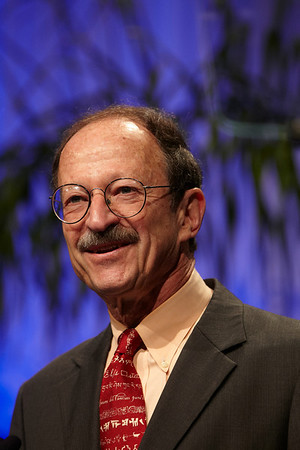 Chicago, IL - ASCO 2011 Annual Meeting:  Harold  Varmus speaks during the Opening Session - NCI Directors Address at the American Society for Clinical Oncology Annual Meeting here today, Saturday June 4, 2011. Over 25,000  physicians, researchers and healthcare professionals from over 100 countries are attending the meeting which is being held at the McCormick Convention center and features the latest cancer research in the areas of basic and clinical science. Date: Saturday June 4, 2011 Photo by © GMG/Todd Buchanan 2011 Technical Questions: todd@toddbuchanan.com; ASCO Contact: photos@asco.org Event Name: Opening Session - NCI Directors Address