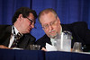 Chicago, IL - ASCO 2011 Annual Meeting:  Gilles Salles, Myron Czuczman  during the Oral Abstract Presentation Lymphoma at the American Society for Clinical Oncology Annual Meeting here today, Saturday June 4, 2011. Over 25,000  physicians, researchers and healthcare professionals from over 100 countries are attending the meeting which is being held at the McCormick Convention center and features the latest cancer research in the areas of basic and clinical science. Date: Saturday June 4, 2011 Photo by © GMG/Silas Crews 2011 Technical Questions: todd@toddbuchanan.com; ASCO Contact: photos@asco.org Event Name: Oral Abstract Presentation Lymphoma