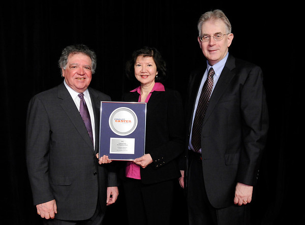 Chicago, IL - ASCO 2011 Annual Meeting:    Children's Hospital of New Orleans is recognized during the Clinical Trials Participation Awards at the American Society for Clinical Oncology Annual Meeting here today, Sunday June 5, 2011. Over 25,000  physicians, researchers and healthcare professionals from over 100 countries are attending the meeting which is being held at the McCormick Convention center and features the latest cancer research in the areas of basic and clinical science. Date: Sunday June 5, 2011 Photo by © GMG/Phil McCarten 2011 Technical Questions: todd@toddbuchanan.com; ASCO Contact: photos@asco.org Event Name: Clinical Trials Participation Awards