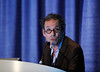Chicago, IL - ASCO 2011 Annual Meeting:  Sylvain  Burachel, M.D. speaks during the CSS-Anti-antogenic Therapies and Biomarkers in Pediatric Cancer session at the American Society for Clinical Oncology Annual Meeting here today, Saturday June 5, 2011. Over 25,000  physicians, researchers and healthcare professionals from over 100 countries are attending the meeting which is being held at the McCormick Convention center and features the latest cancer research in the areas of basic and clinical science. Date: Saturday June 4, 2011 Photo by © GMG/Phil McCarten 2011 Technical Questions: todd@toddbuchanan.com; ASCO Contact: photos@asco.org Event Name: CSS-Anti-antogenic Therapies and Biomarkers in Pediatric Cancer