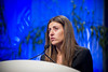 Chicago, IL - ASCO 2011 Annual Meeting:  Valentina Guarneri, MD, PhD speaks during the Breast Cancer HER2/ER Oral Abstract session at the American Society for Clinical Oncology Annual Meeting here today, Sunday June 5, 2011. Over 25,000  physicians, researchers and healthcare professionals from over 100 countries are attending the meeting which is being held at the McCormick Convention center and features the latest cancer research in the areas of basic and clinical science. Date: Sunday June 5, 2011 Photo by © GMG/Zach Boyden-Holmes 2011 Technical Questions: todd@toddbuchanan.com; ASCO Contact: photos@asco.org Event Name: Oral Abstract Breast Cancer HER2/ER