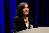 Chicago, IL - ASCO 2011 Annual Meeting:  Gail  Roboz speaks during the Oral Abstract Presentation at the American Society for Clinical Oncology Annual Meeting here today, Monday June 6, 2011. Over 25,000  physicians, researchers and healthcare professionals from over 100 countries are attending the meeting which is being held at the McCormick Convention center and features the latest cancer research in the areas of basic and clinical science. Date: Monday June 6, 2011 Photo by © GMG/Phil McCarten 2011 Technical Questions: todd@toddbuchanan.com; ASCO Contact: photos@asco.org Event Name: Oral Abstract Presentation