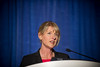Chicago, IL - ASCO 2011 Annual Meeting:  Kelly-Anne Phillips  speaks during the Cancer Prevention Oral Abstract Presentation  at the American Society for Clinical Oncology Annual Meeting here today, Monday June 6, 2011. Over 25,000  physicians, researchers and healthcare professionals from over 100 countries are attending the meeting which is being held at the McCormick Convention center and features the latest cancer research in the areas of basic and clinical science. Date: Monday June 6, 2011 Photo by © GMG/Zach Boyden-Holmes 2011 Technical Questions: todd@toddbuchanan.com; ASCO Contact: photos@asco.org Event Name: Cancer Prevention Oral Abstract Presentation