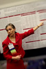 Chicago, IL - ASCO 2011 Annual Meeting:  Heather A.  Wakelee speaks during the Poster 7013 at the American Society for Clinical Oncology Annual Meeting here today, Monday June 6, 2011. Over 25,000  physicians, researchers and healthcare professionals from over 100 countries are attending the meeting which is being held at the McCormick Convention center and features the latest cancer research in the areas of basic and clinical science. Date: Monday June 6, 2011 Photo by © GMG/Todd Buchanan 2011 Technical Questions: todd@toddbuchanan.com; ASCO Contact: photos@asco.org Event Name: Poster 7013
