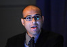 Chicago, IL - ASCO 2011 Annual Meeting:  Jonas  de Souza speaks during the CSS-Emerging Issues in Comparative Effectiveness Research session at the American Society for Clinical Oncology Annual Meeting here today, Tuesday June 7, 2011. Over 25,000  physicians, researchers and healthcare professionals from over 100 countries are attending the meeting which is being held at the McCormick Convention center and features the latest cancer research in the areas of basic and clinical science. Date: Tuesday June 7, 2011 Photo by © GMG/Phil McCarten 2011 Technical Questions: todd@toddbuchanan.com; ASCO Contact: photos@asco.org Event Name: CSS-Emerging Issues in Comparative Effectiveness Research