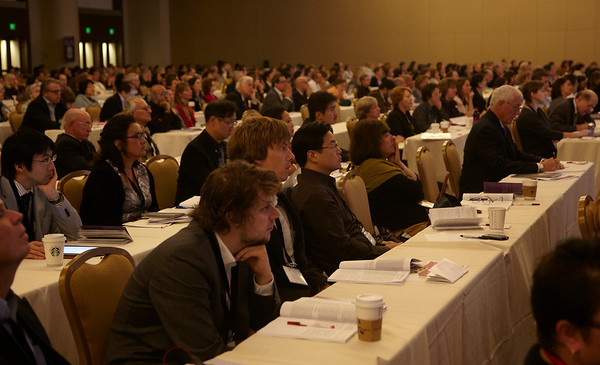 San Francisco, CA - Breast Cancer Symposium 2011 - The Continuum of Breast Care: Science to Survivorship - General Views at the Breast Cancer Symposium here today, Thursday September 8, 2011 at the San Francisco Marriott. Over 1100 attendees received updates on the latest research in breast cancer detection, care, prevention and treatment from physicians, clinicians and researchers from around the world.  Date: Thursday September 8, 2011 Photo by © ASCO/Todd Buchanan 2011 Technical Questions: todd@toddbuchanan.com; Phone: 612-226-5154.